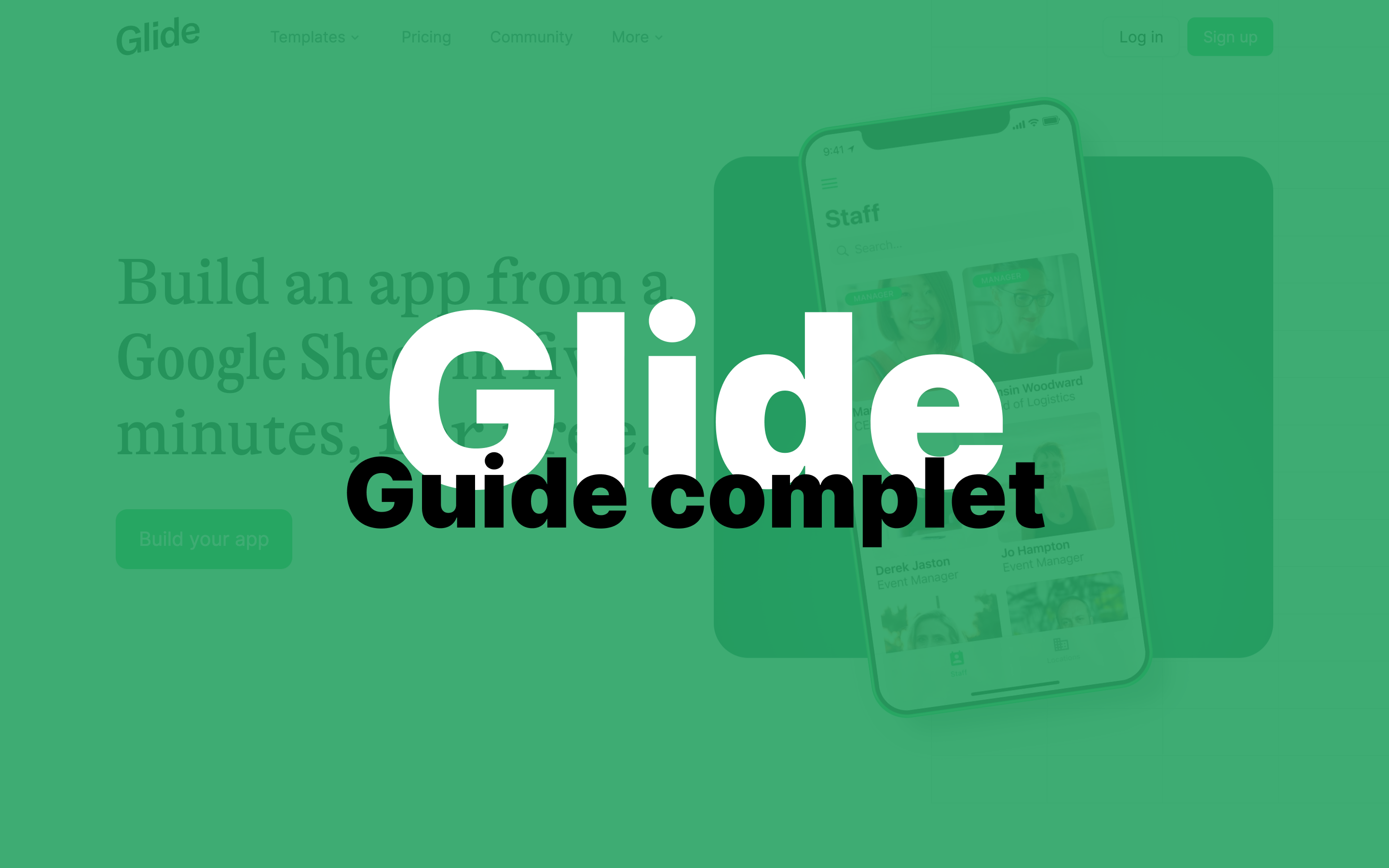 Glide : Le guide complet